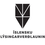 Logo for Icelandic Lighting Design Award